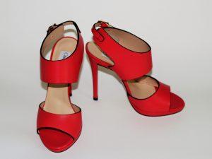 giampaolo-viozzi, sandali, rosso