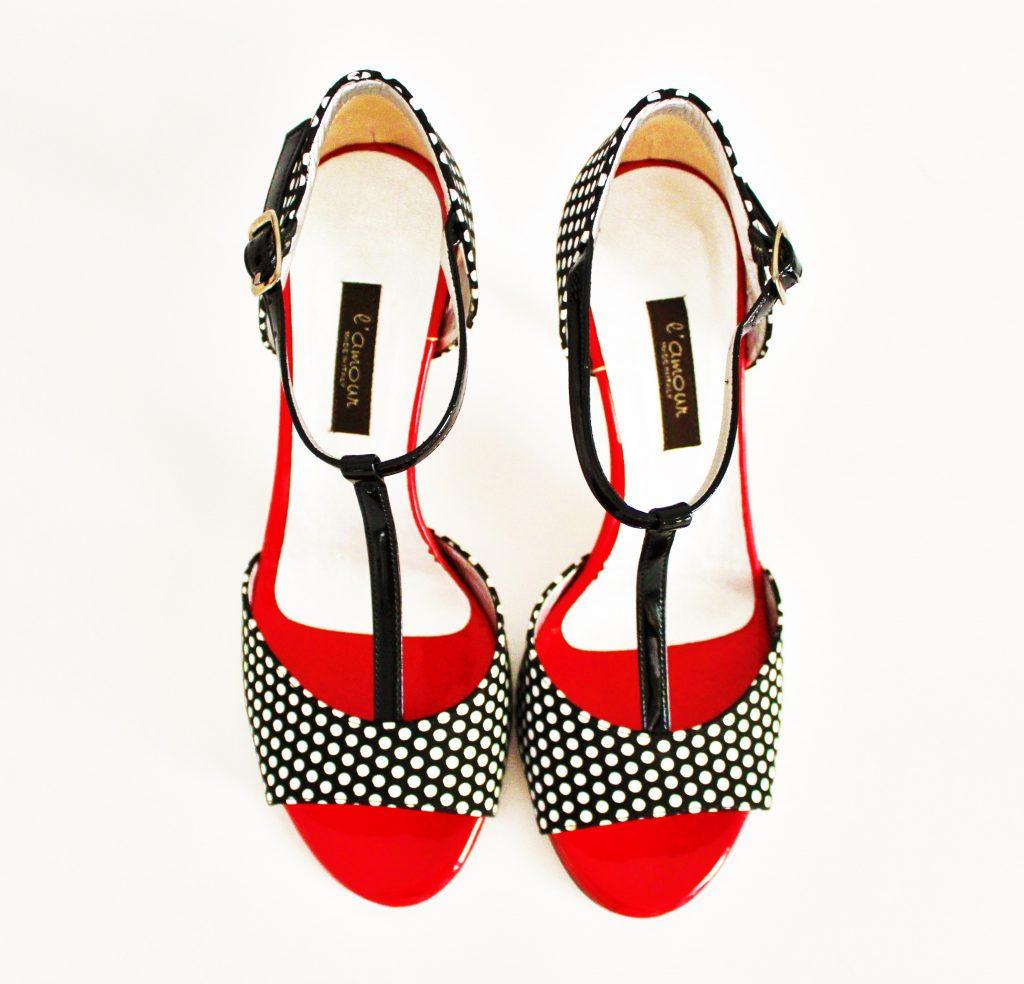 scarpe-pois, scarpe, l'amour