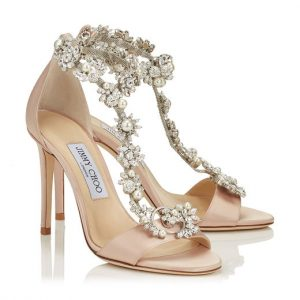 Sandali con cristalli 3595