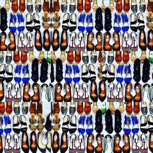 indossare sempre le stesse scarpe