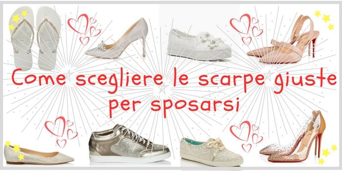 Come scegliere le scarpe giuste per sposarsi?
