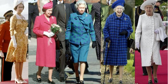 Le scarpe della regina Elisabetta: oltre 50 anni di stile