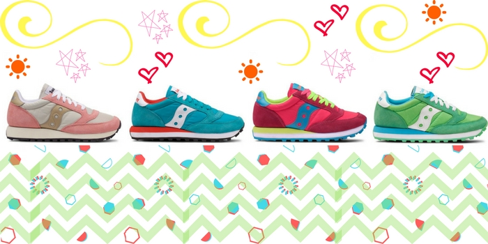 Saucony, le sneaker colorate