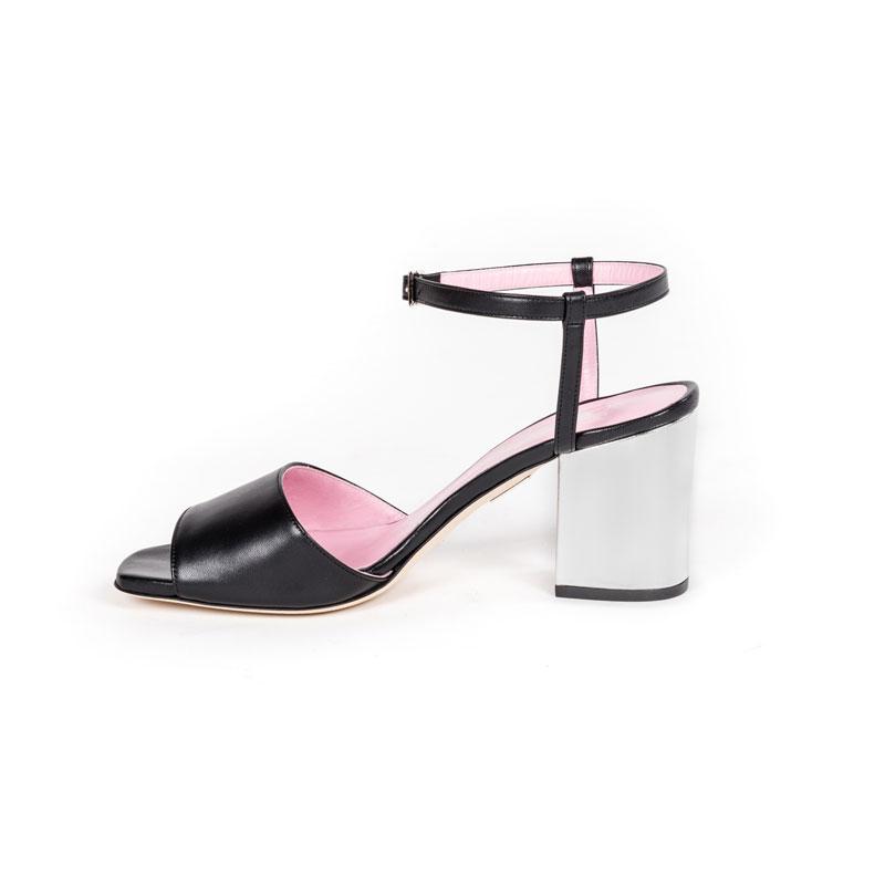 CiaoBella - sandalo in nappa nera