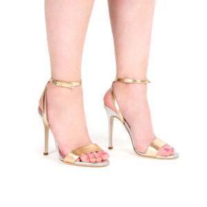 Diva - Sandalo minimal con laccio alla caviglia