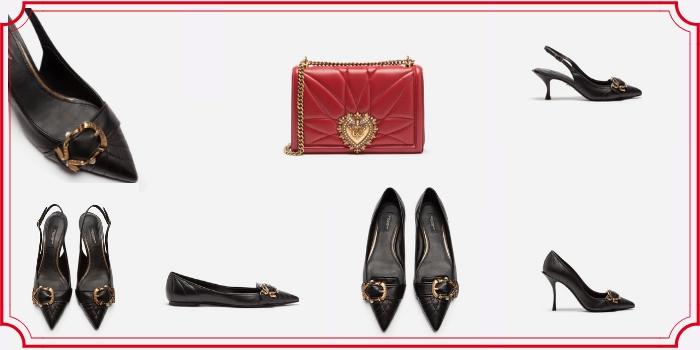 Le scarpe Devotion di Dolce e Gabbana della collezione autunno/inverno 2018-2019