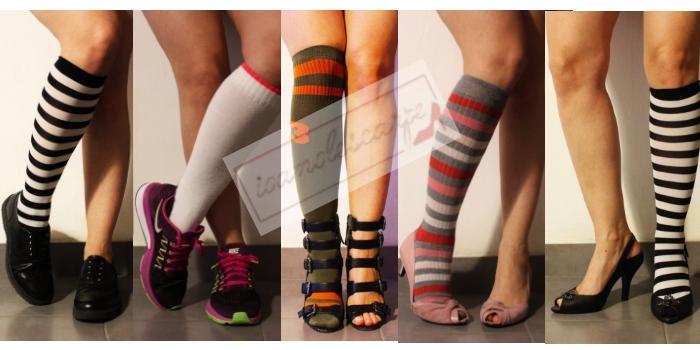 Calze, calzini e tacchi: quando la moda ci viene in soccorso