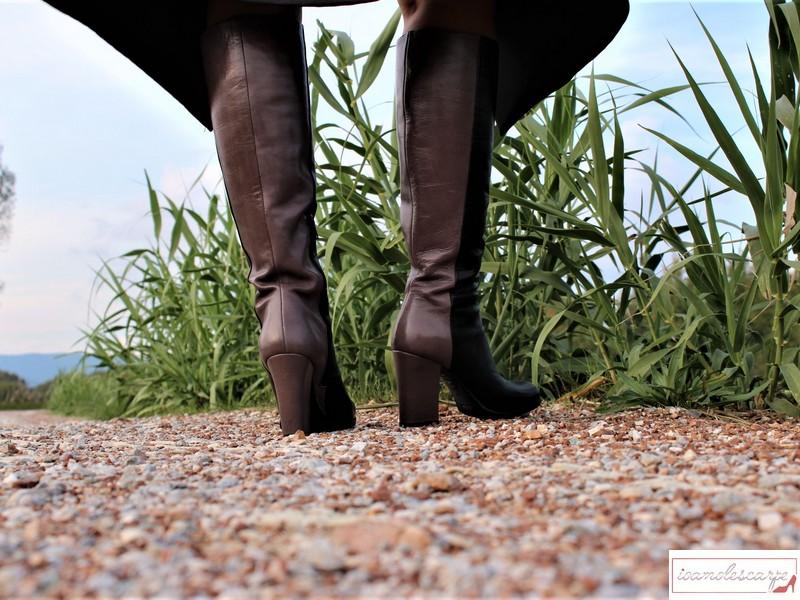 Gli stivali bicolore di Fiori Francesi