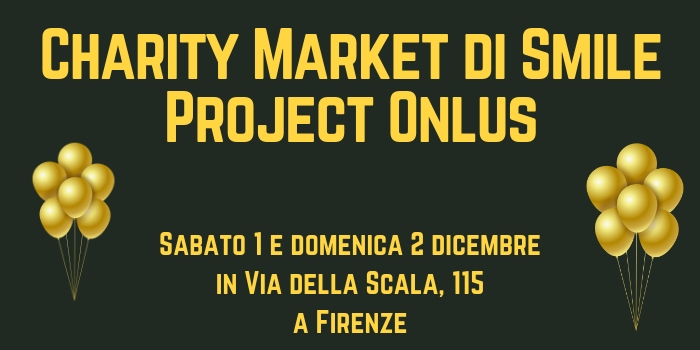Charity Market di Smile Project Onlus: scarpe, abbigliamento, accessori e beneficenza