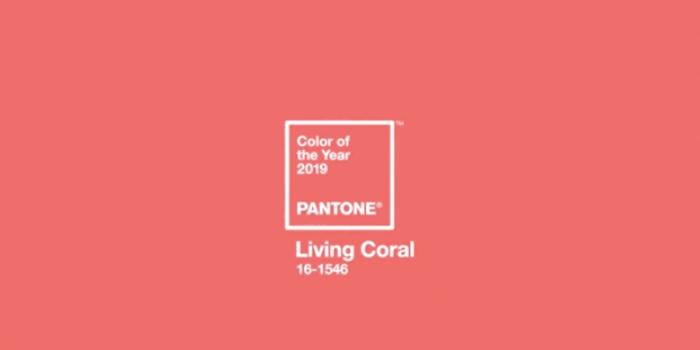 Colore Pantone 2019: Living Coral