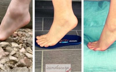 Le solette giuste per scarpe per il mal di piedi quotidiano