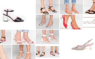 Sandali con tacco medio: la scelta pratica e chic
