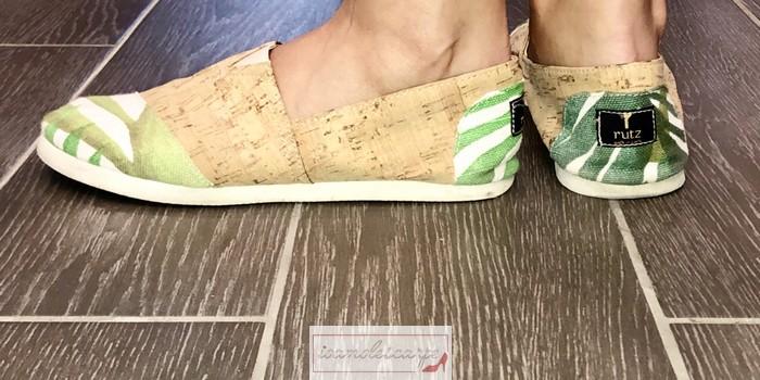 Scarpe in sughero: le Rutz walk in cork