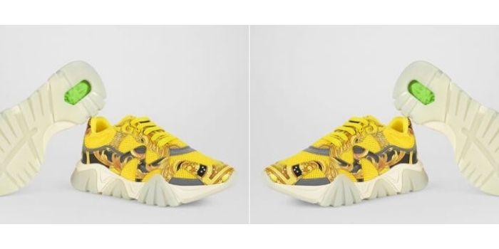 Le sneaker Squalo di Versace