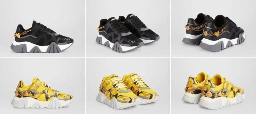 Sneaker-Squalo-di-Versace-con-catena-dorata