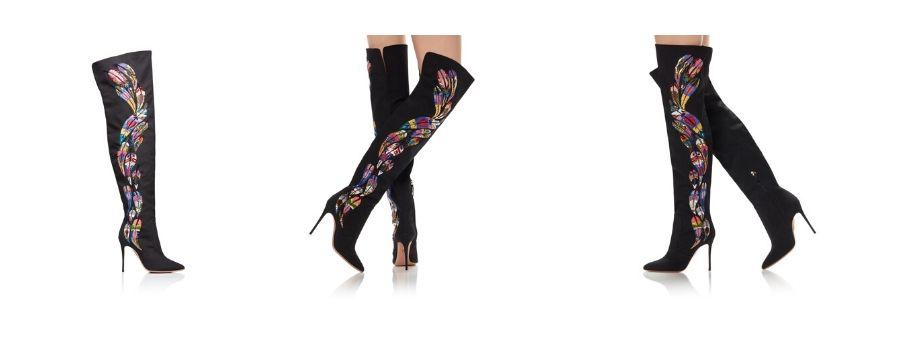 Aquazzura-Mina-boot-Scarpe multicolore