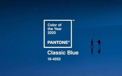 Classic Blue colore Pantone 2020