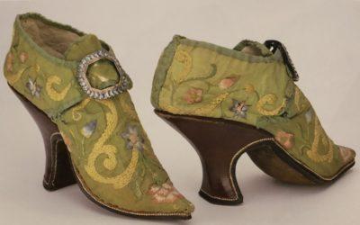 Storia delle scarpe nel 1700