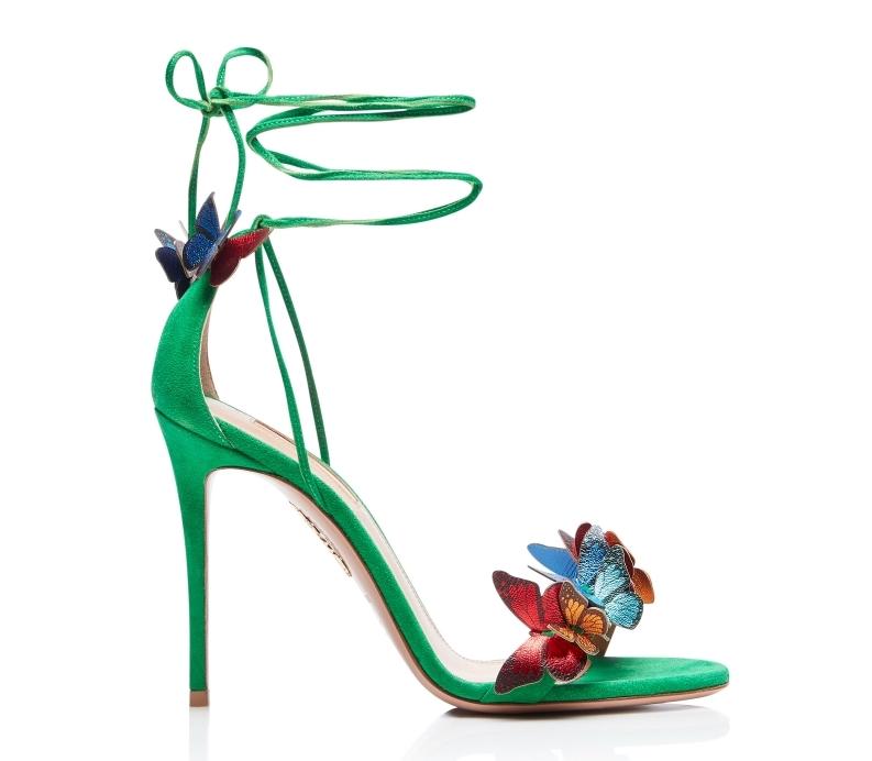 Aquazzura-Papillon-sandal-105-Jungle-green-Suede-leather-PPLHIGS0-SNL-JGR-Right