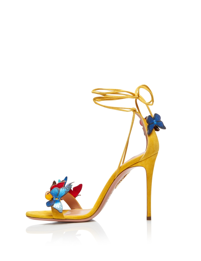 Aquazzura-Papillon-sandal-105-Sporty-yellow-Suede-leather-PPLHIGS0-SNL-SPY-Left