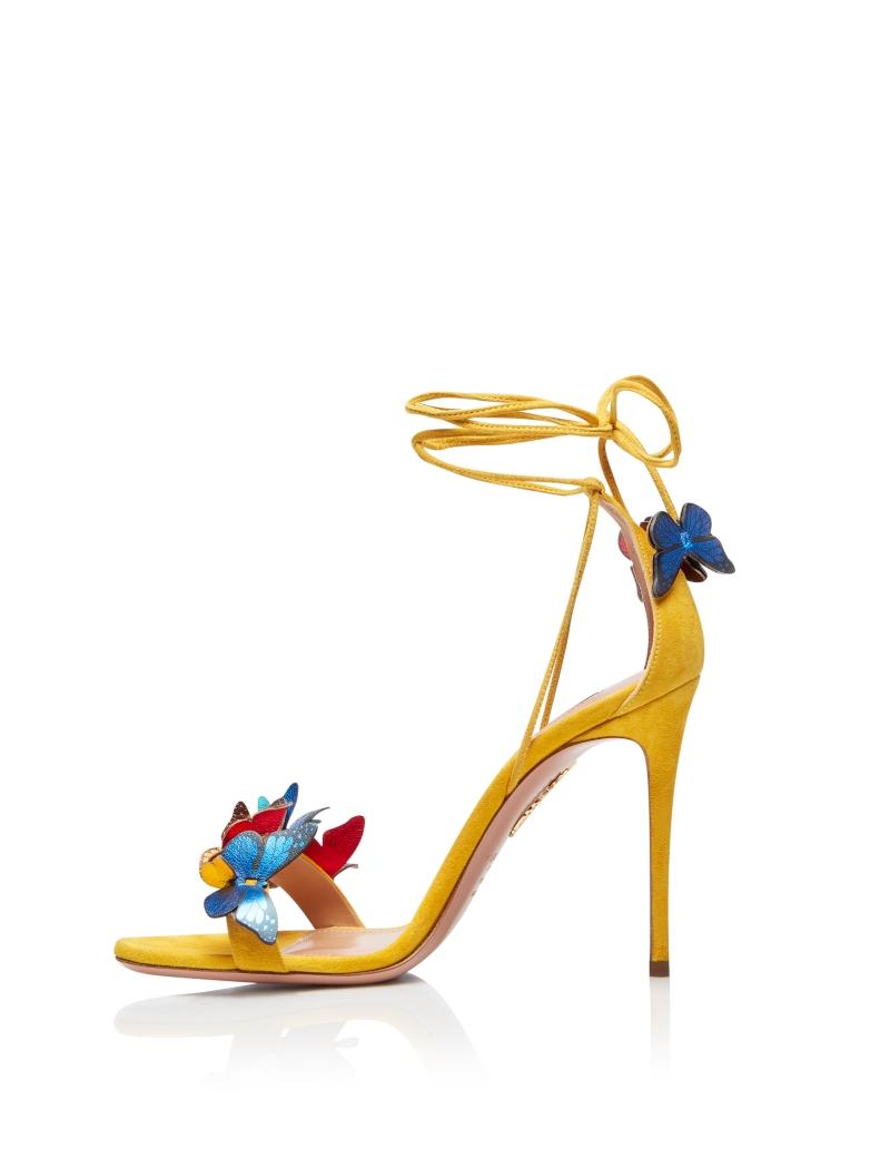Aquazzura-Papillon-sandal-105-Sporty-yellow-Suede-leather-PPLHIGS0-SNL-SPY-Left