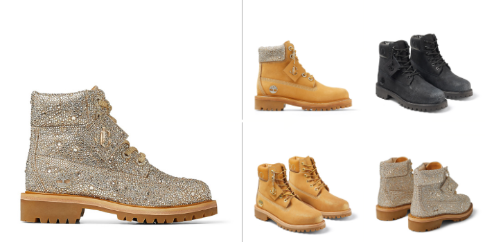 Jimmy Choo e Timberland: la capsule collection