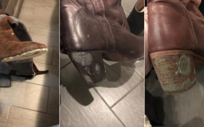 Come togliere la muffa dalle scarpe: box ozono