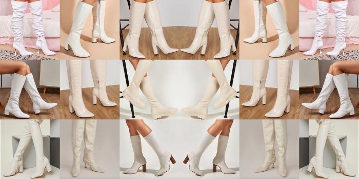 Stivali bianchi: come sceglierli e abbinarli
