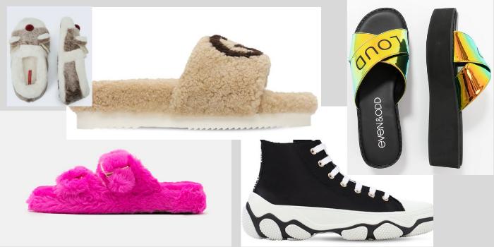 Le scarpe chic da indossare a casa